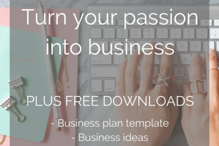 Free Passion to Biz Course   Business planning  Passion and Business Free Course to turn your passion into business  plus free downloads  business  plan template