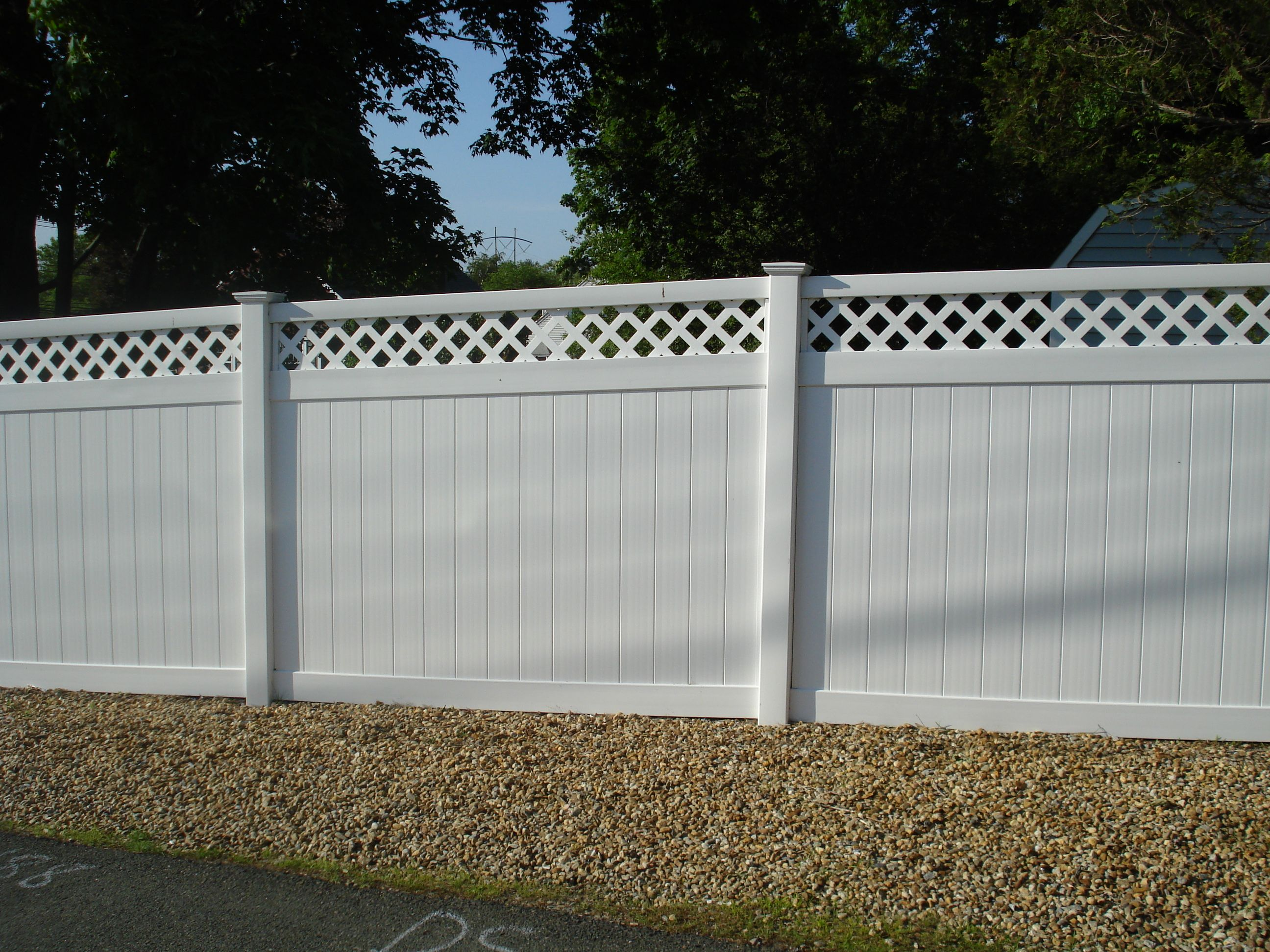 Non Flammable Vinyl Fence Stockist Of Fence Boards In