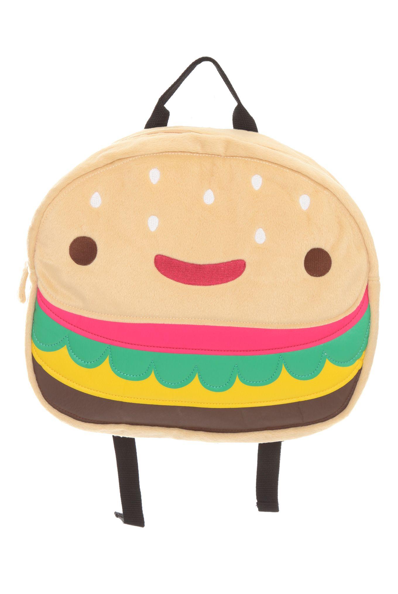 Cheeseburger Book Bag