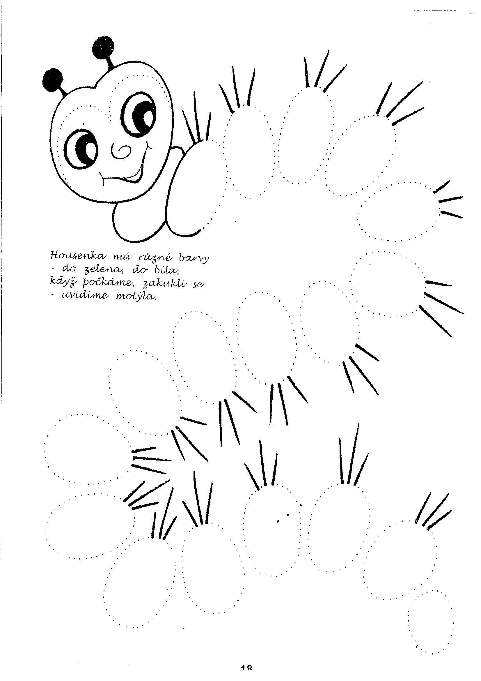 Grafomotoricke Listy Pre 3 Ro Ne Deti