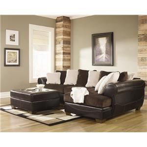 Victory Chocolate Victory Chocolate Sectional By Signature