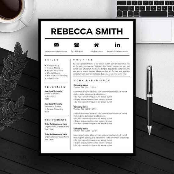 Professional Resume Template   CV Template   Cover Letter   For MS     Professional Resume Template   CV Template   Cover Letter   For MS Word    iWork