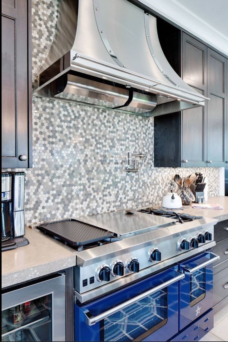 What do you think of this stunning BlueStar kitchen from Crowley