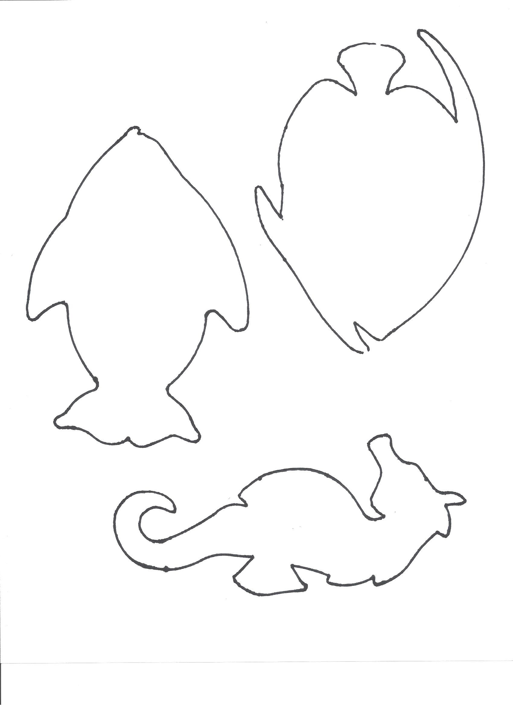 Trunk Or Treat Trunk Decor Fish Template Print On Some