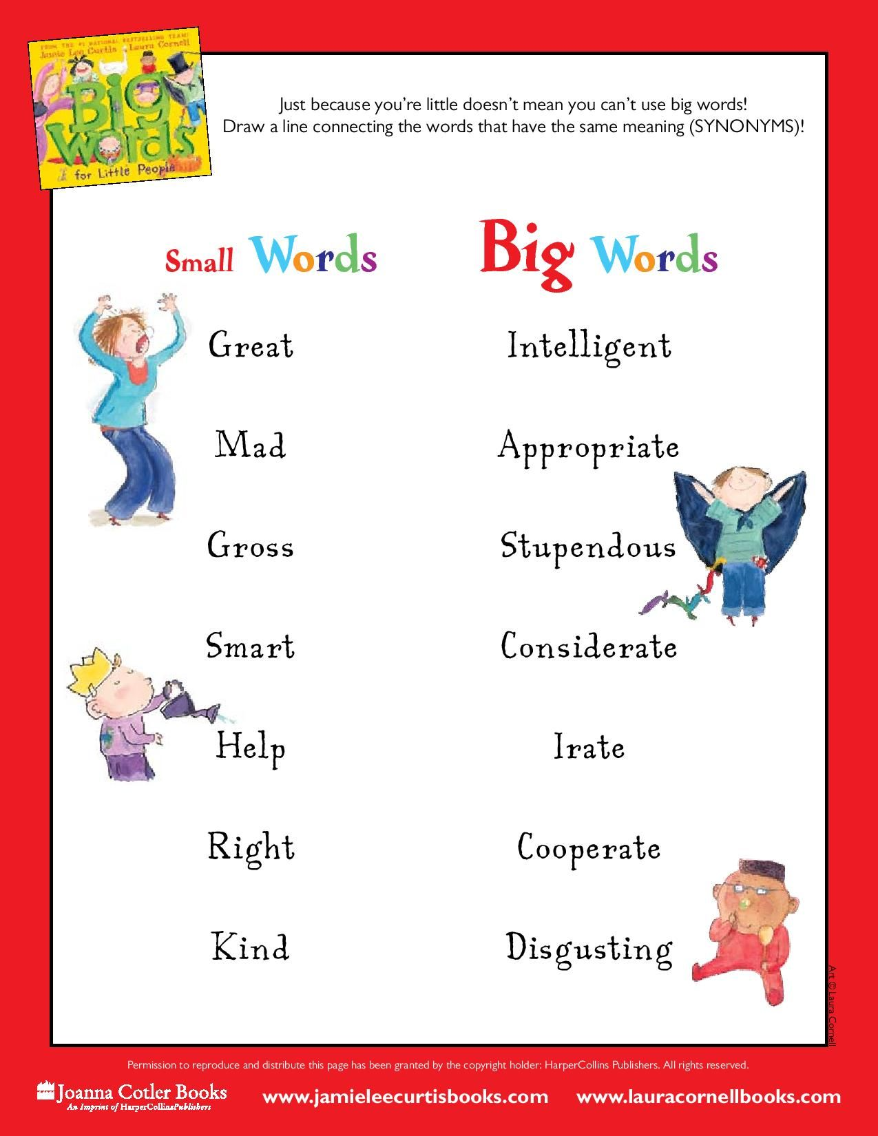 Big Words For Little People Just Because You Re Little