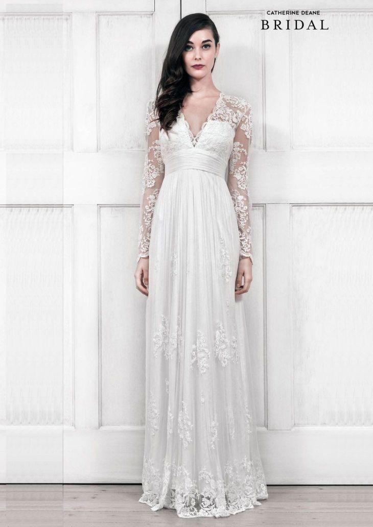 Exquisite u Elegant Long Sleeved Wedding Dresses  Long sleeved