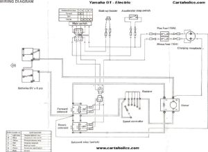 yamaha golf cart electrical diagram | Yamaha G1 Golf Cart