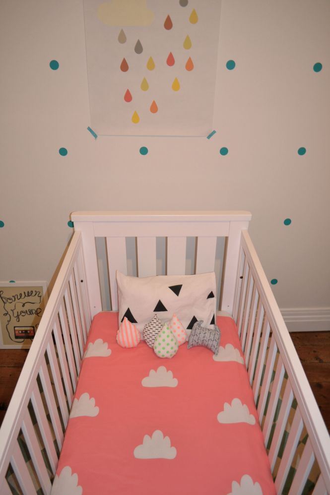 Mint Cloud Ed Cot Sheet Made To Order 4 Weeks Ship This Listing