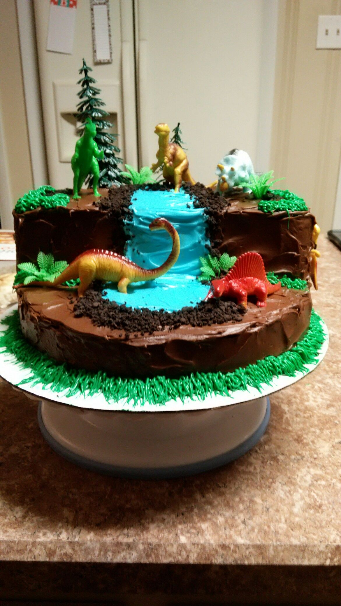Dinosaur Cake Quot Cake Therapy Quot By Karen Amp Kristin