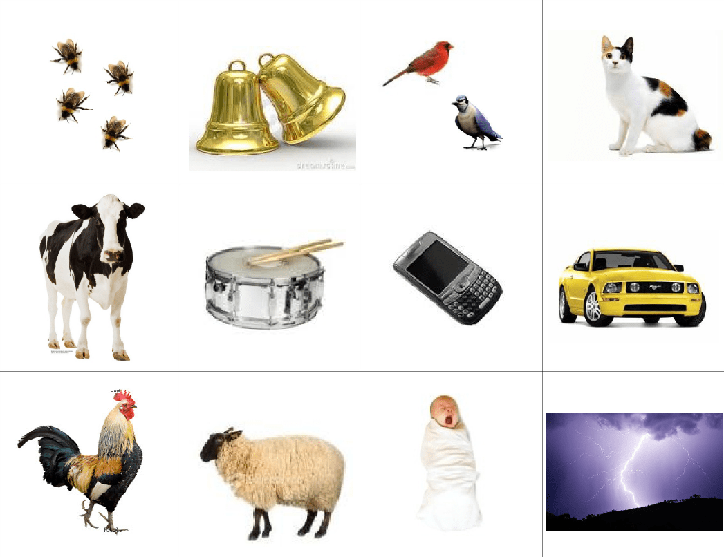 Sound Safari Is A Scavenger Hunt For Sounds Make A Checklist Of Pictures Of Familiar Sounds