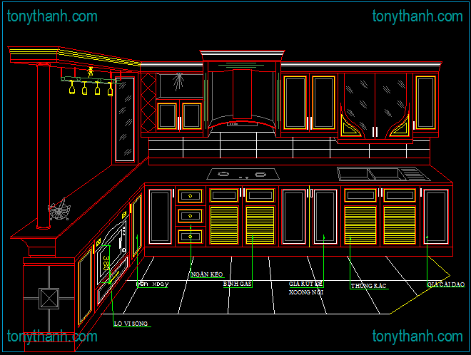 http www tonythanh com interiors autocad drawing block kitchen dwg top 13 awesome kitchen on kitchen interior top view id=47496