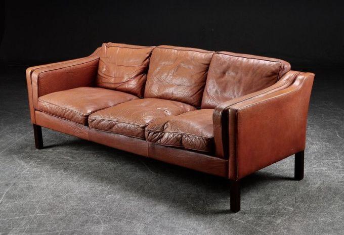 ledersofa vintage braun. Black Bedroom Furniture Sets. Home Design Ideas