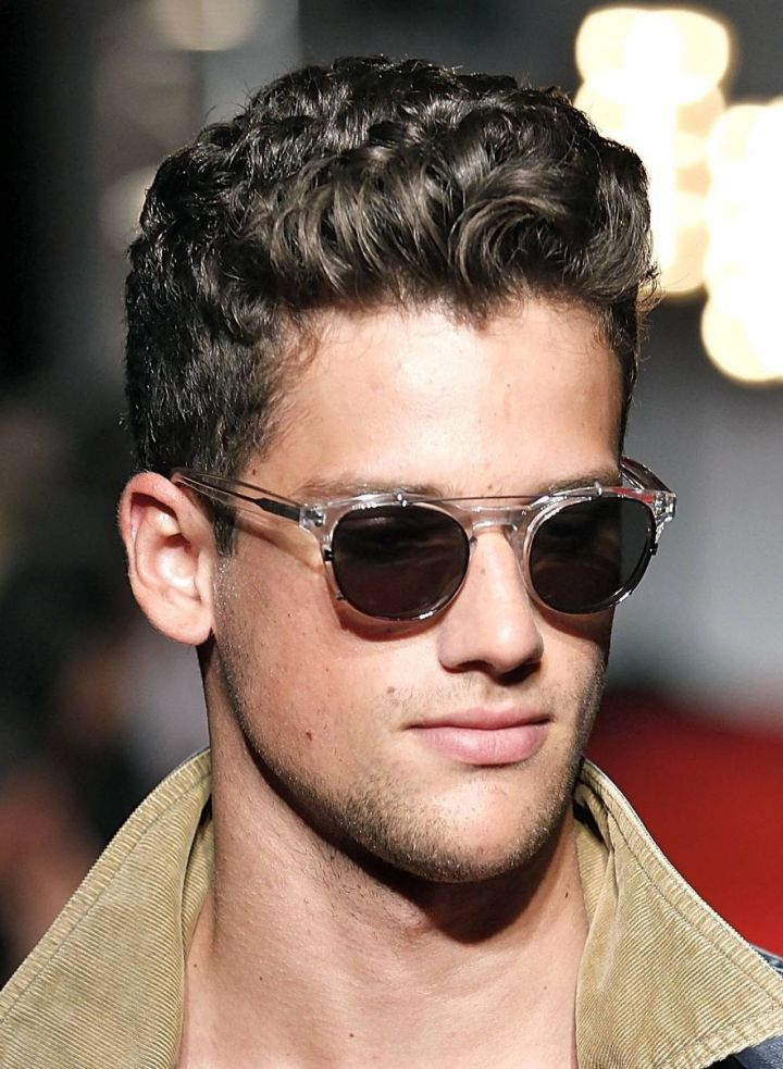 Short Hairstyles Men Thick Hair Medium Hairstyles With Natural