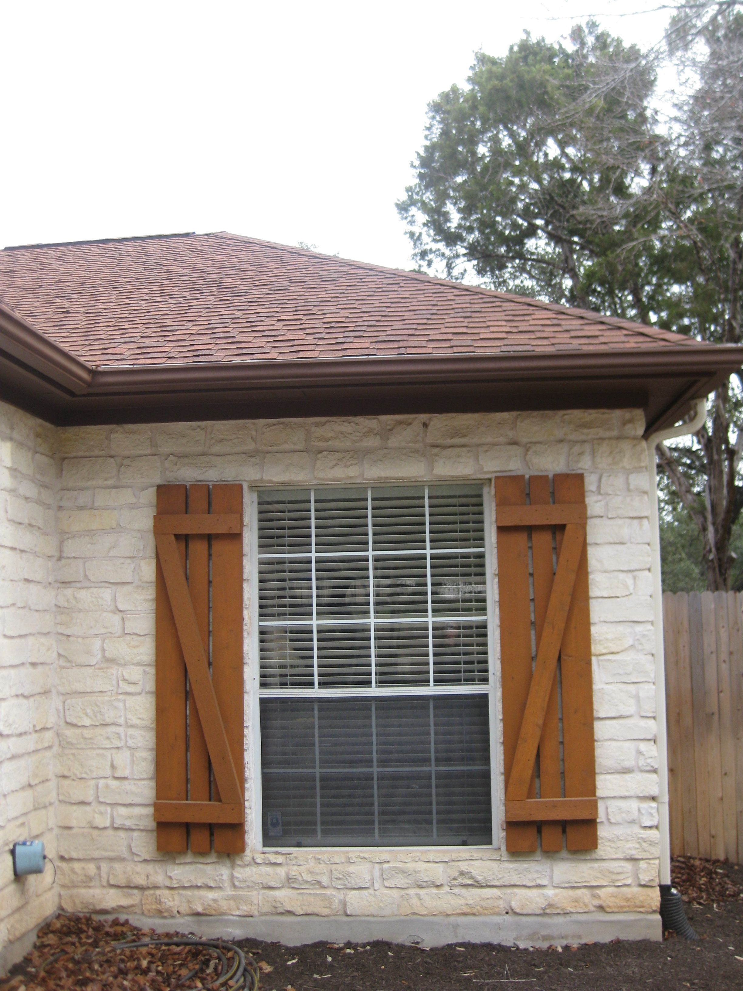 This Old House Dressing Up The Exterior Cedar Shutters