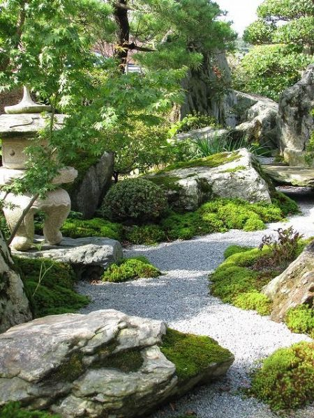 japanese garden designs and layouts Beautiful, Peaceful Japanese-Gardens. A good example of