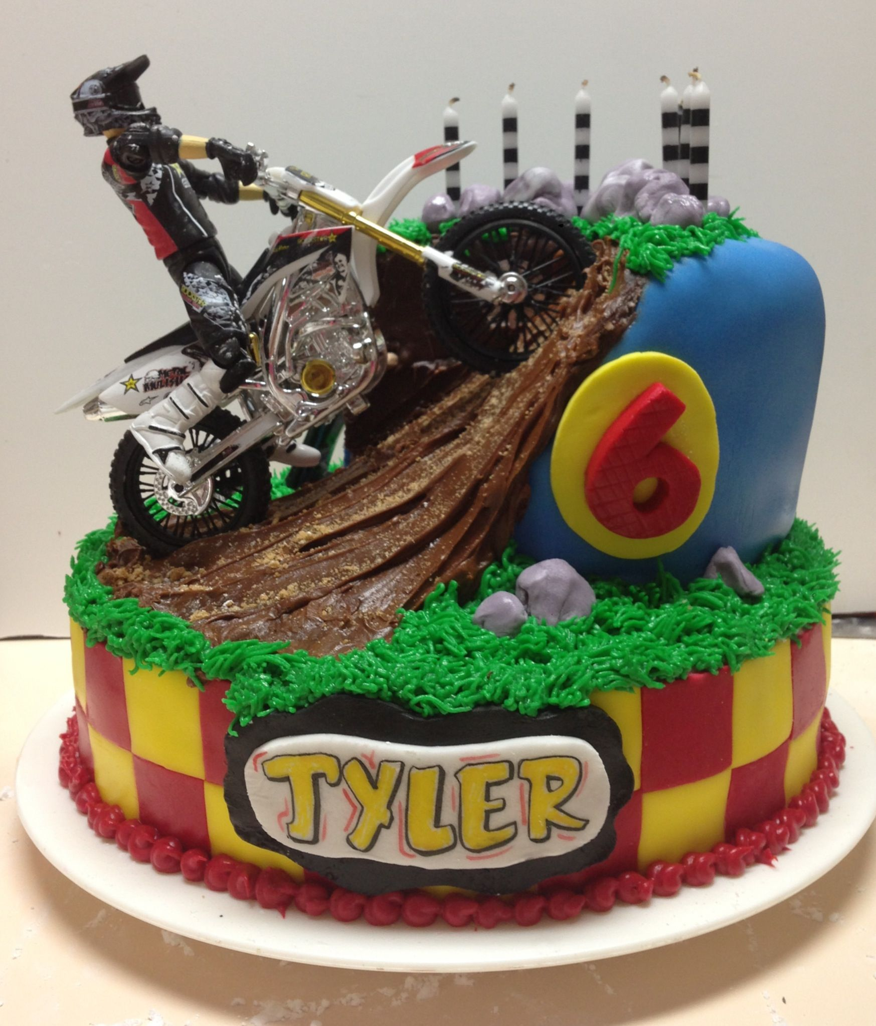 Dirt Bike Party Cake Ideas And Designs