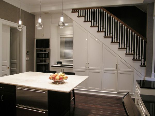 55 amazing space saving kitchens under the stairs space saving kitchen kitchens and spaces on kitchen under stairs id=49709
