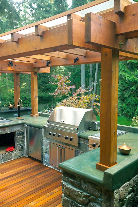 a 1700 square foot 2 level deck outdoor kitchen and firepit complete the outside of this on outdoor kitchen on deck id=64973
