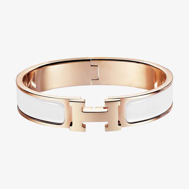 Clic H bracelet Bracelets Rose and Gold