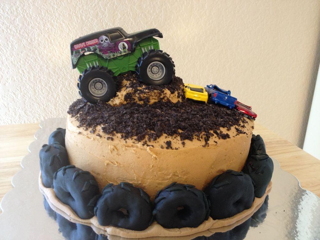 Monster Truck Birthday Cake Ideas Monster Birthday Cakes