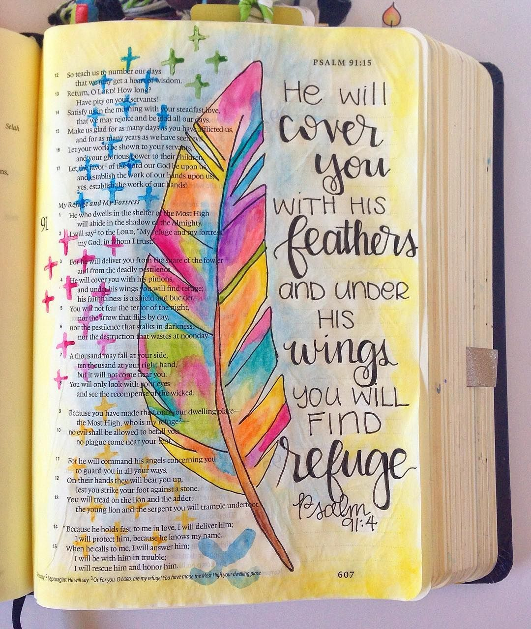 Psalm 91 4 Finally Getting To Post This Because We Got