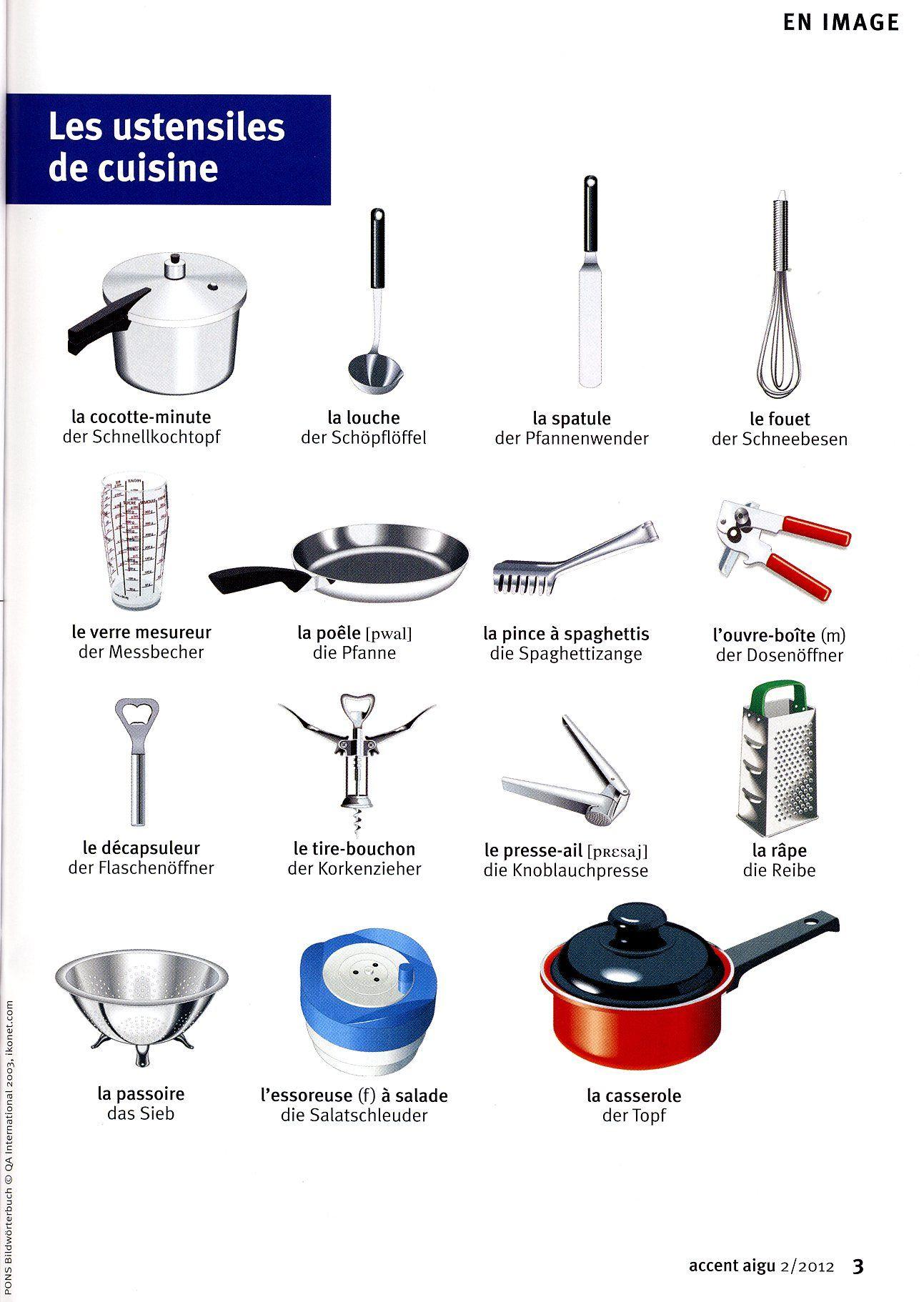 Baking Supplies Worksheet Printable
