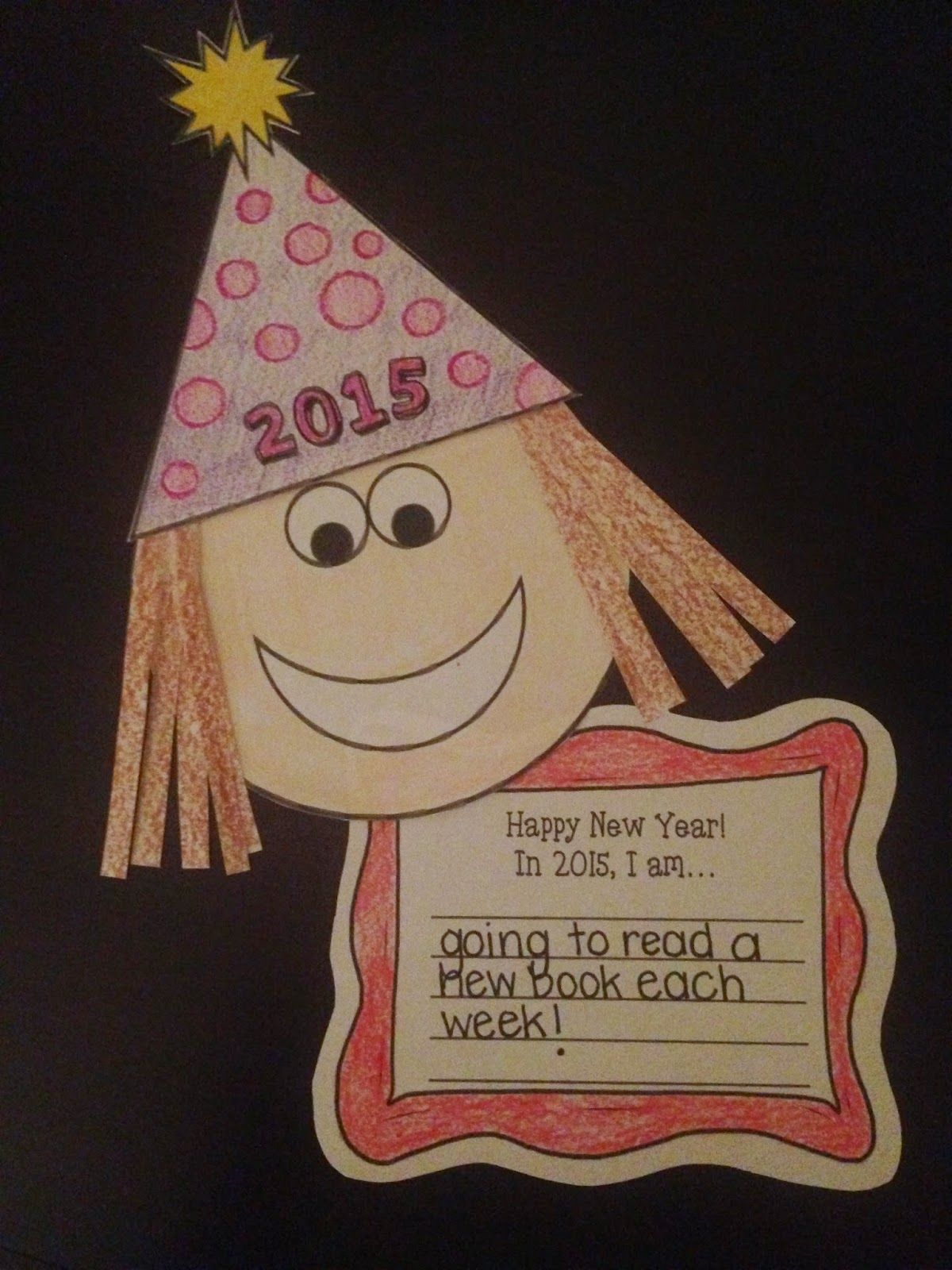 New Year Craftivity Freebie