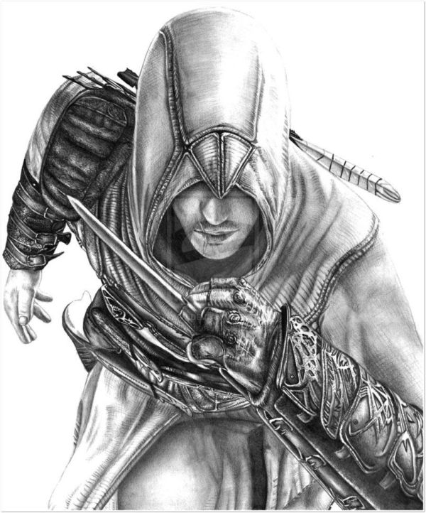 Cool Assassin's Creed Drawings   Tema: Deviant art y sus ...