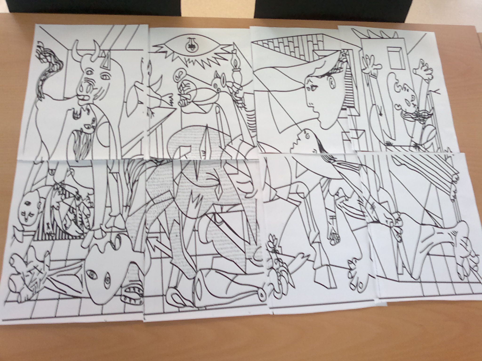 Luxe Coloriage Picasso A Imprimer