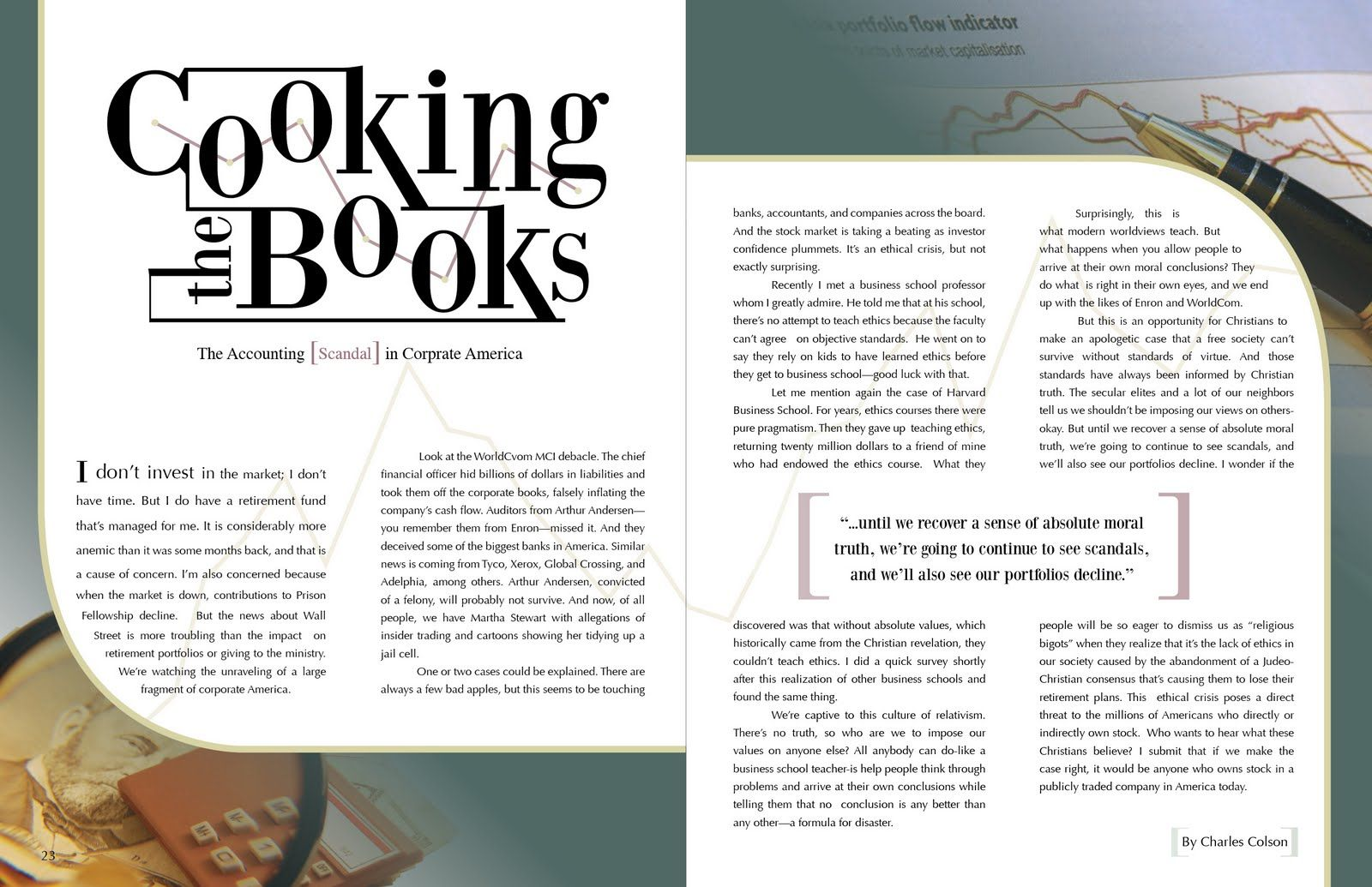 Magazine Page Layout Examples