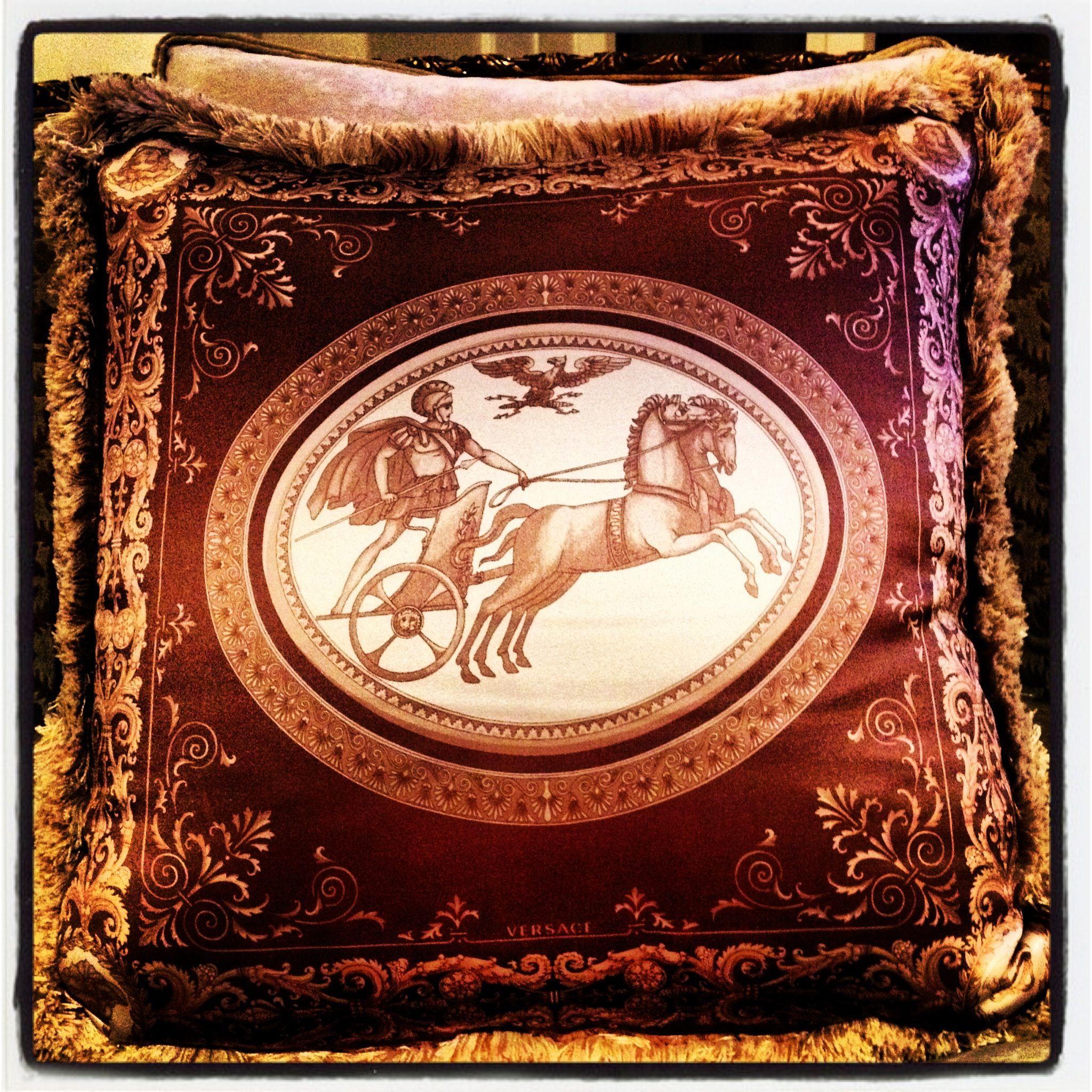 Versace Home Silk Pillow