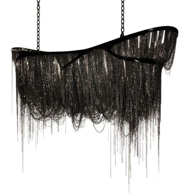 Hudson Furniture Black Dragon Design By Baylar Atelier Nickel Frame Chains