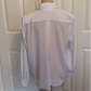 Yves st clair long sleeve button down blouse stitching flats