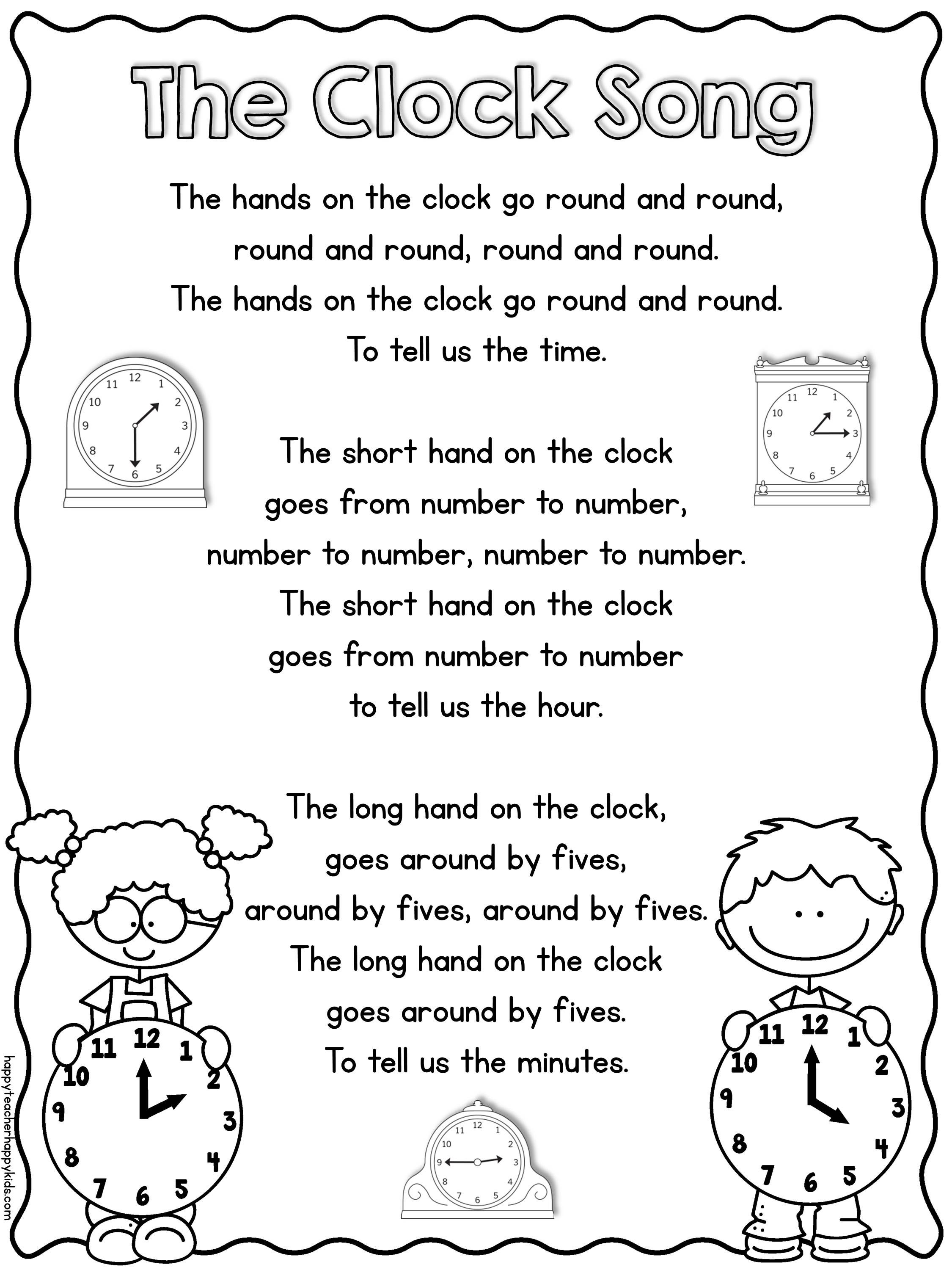 We Are Working On Telling Time In First Grade And I Wanted