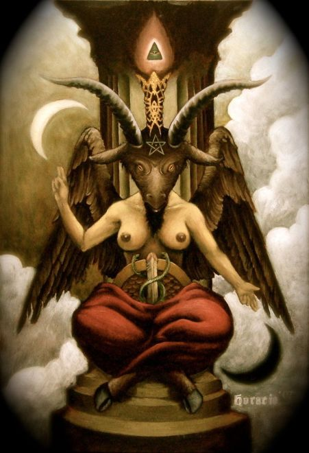 Image result for baphomet
