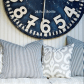 House tour modern nauticalstyle cottage house coastal and clocks