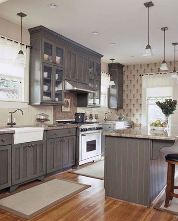 before after kitchen renovations country kitchens kitchens and wallpaper on farmhouse kitchen gray id=13412