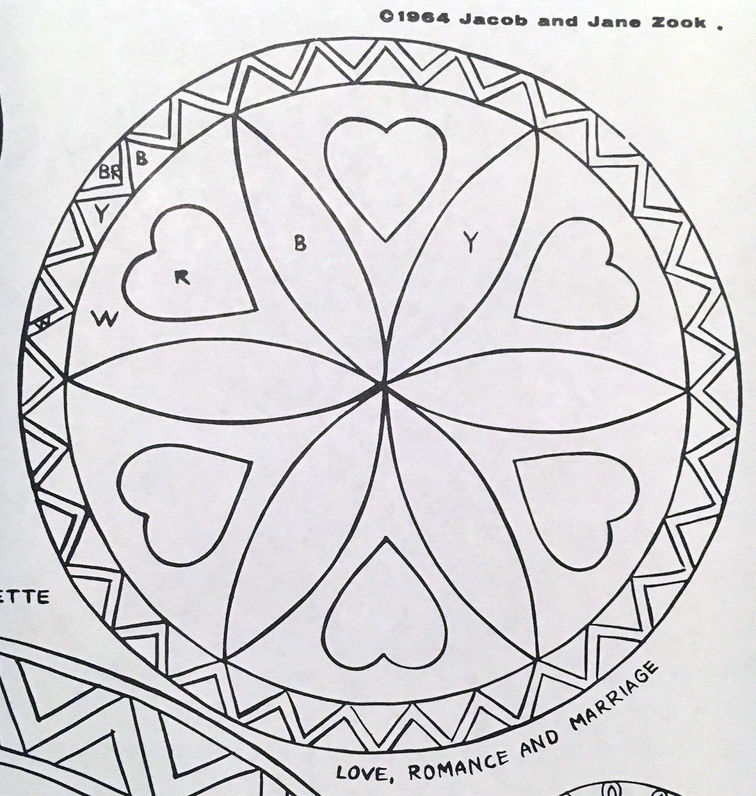Legendary Pennsylvania Dutch Hex Sign Patterns Zook