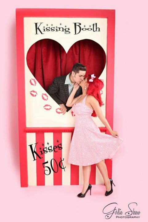 Kissing Booth For Birthday Person Or Guest Of Honor At A