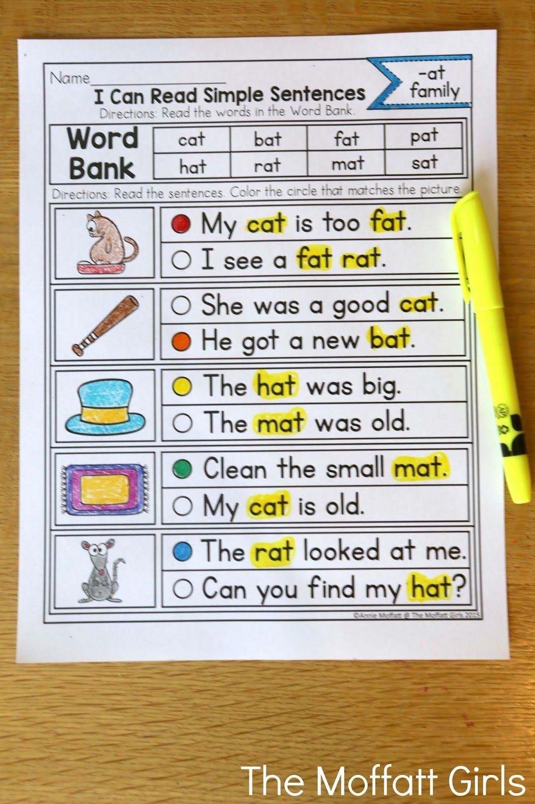 How To Teach Cvc Word Families