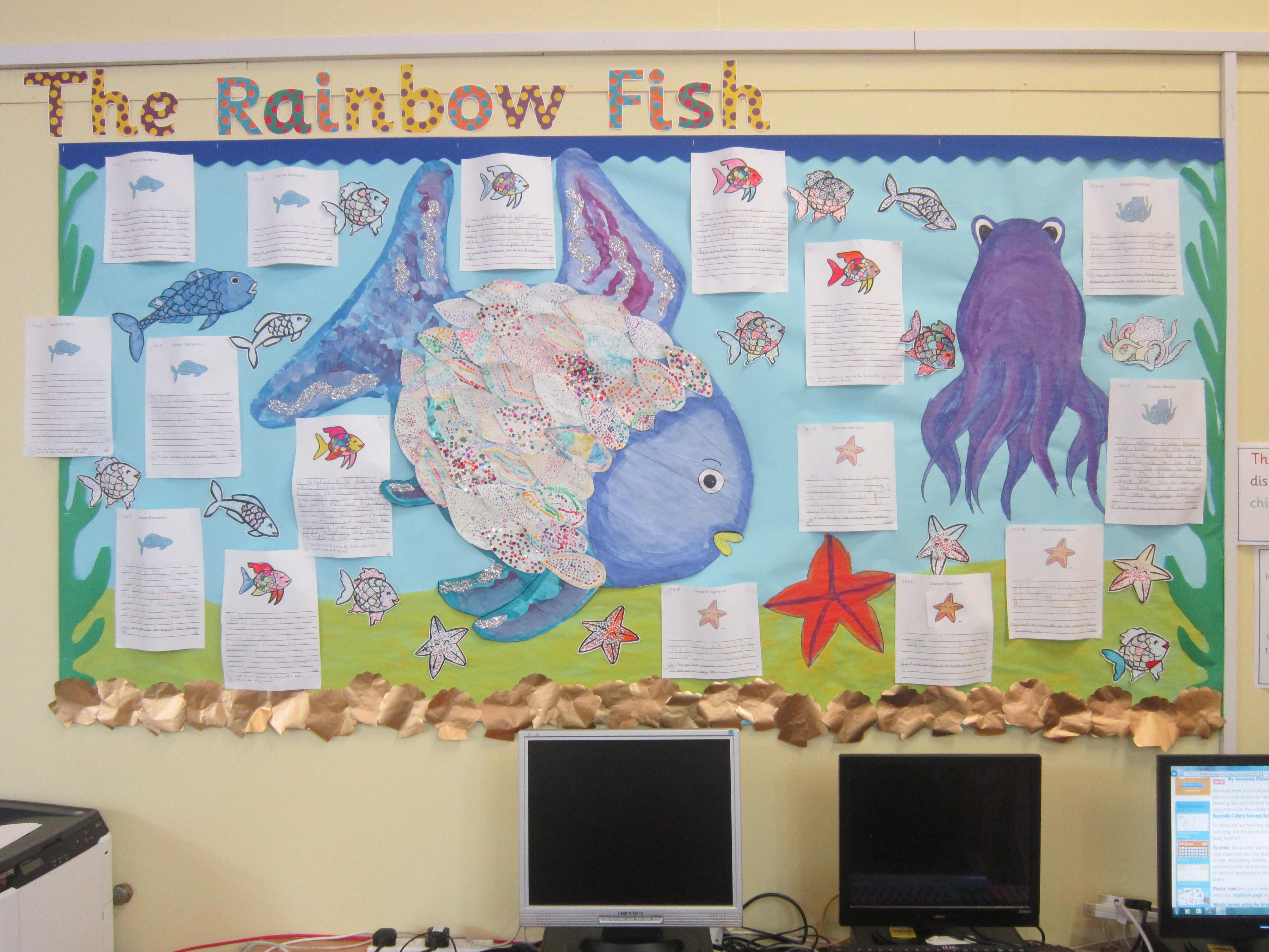 How Amazing Is This Rainbow Fish Display The Beautifully