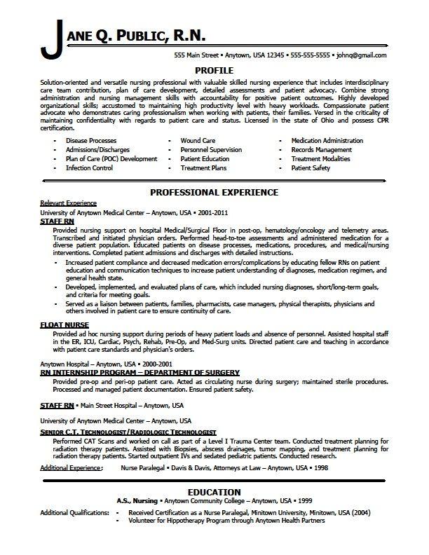 nursing resumes skill sample photo finding my dream job - Circulating Nurse Sample Resume