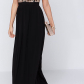 Lovers friends good as gold black and gold sequin maxi dress at