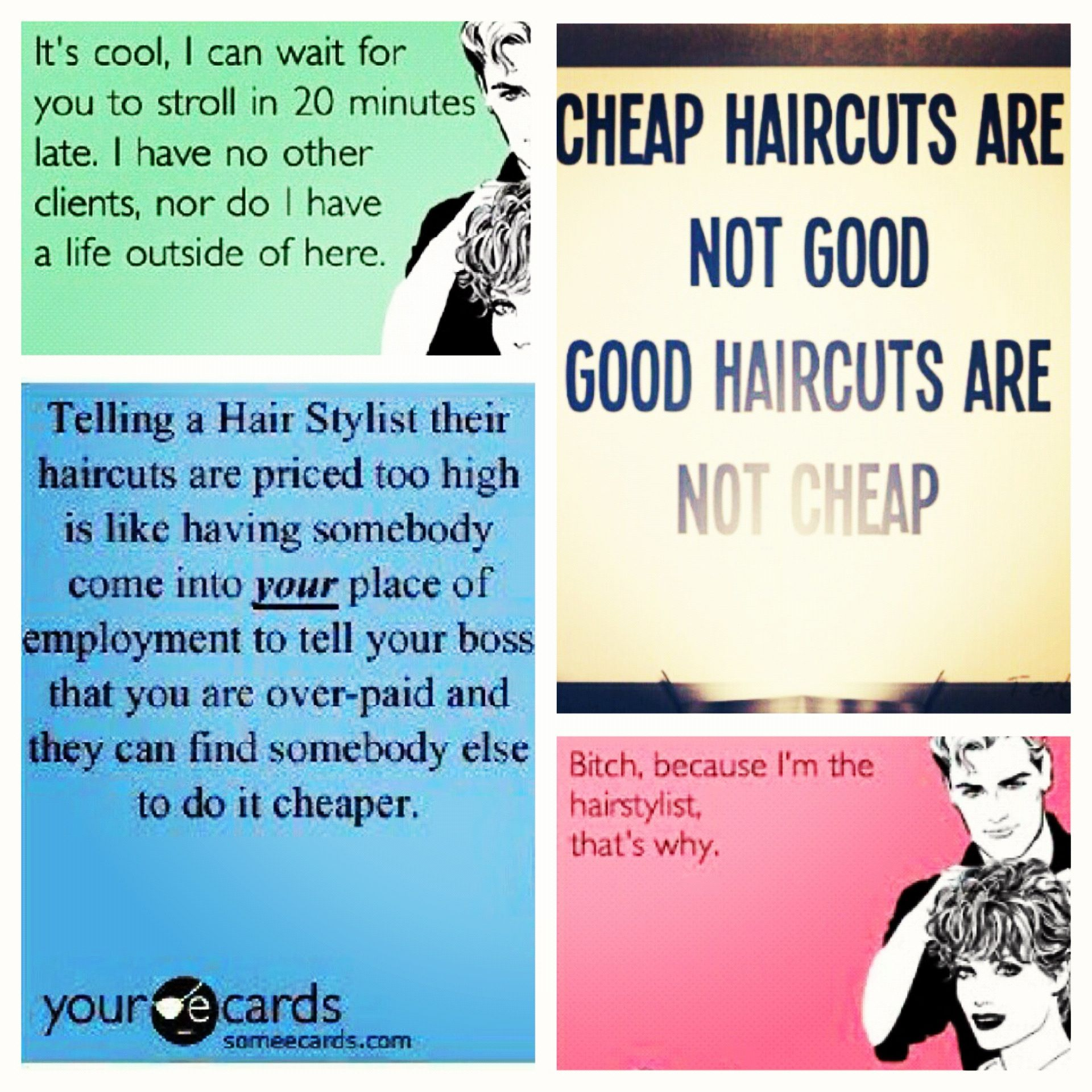 Every hairstylist would agree Beauty Pinterest