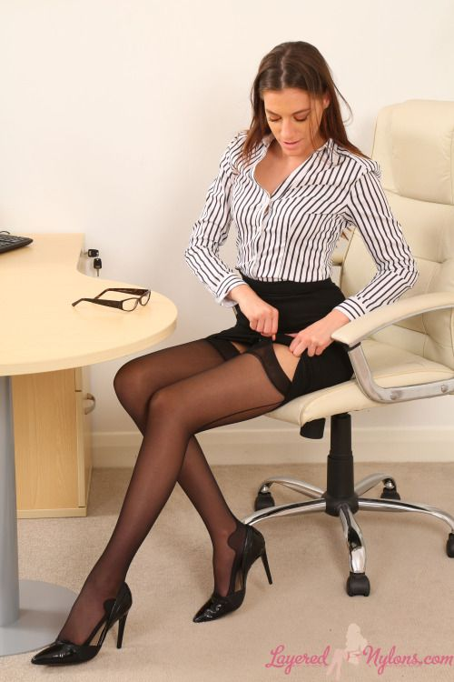 Only Secretaries Womens Fashion Pinterest Stockings