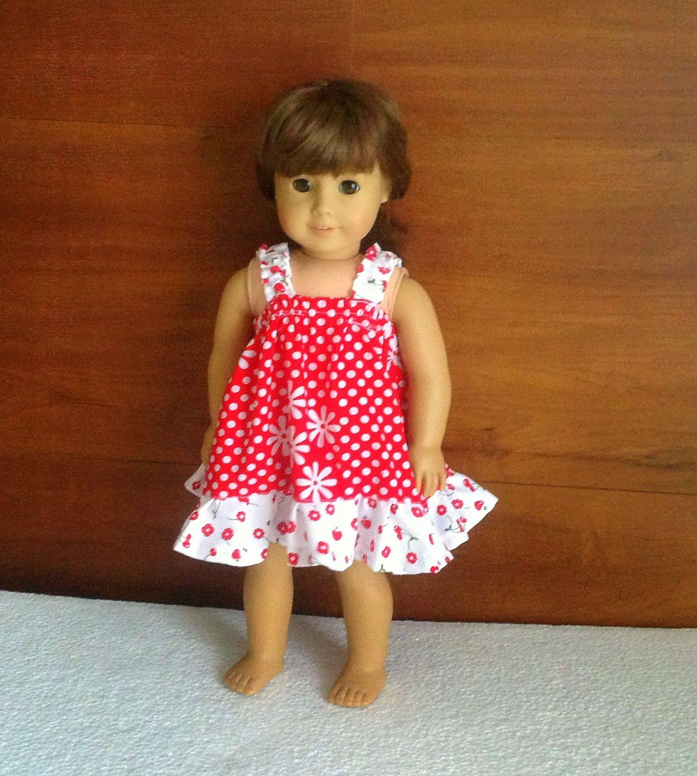 Easy Sundress Sewing Pattern For American Dolls Sewing