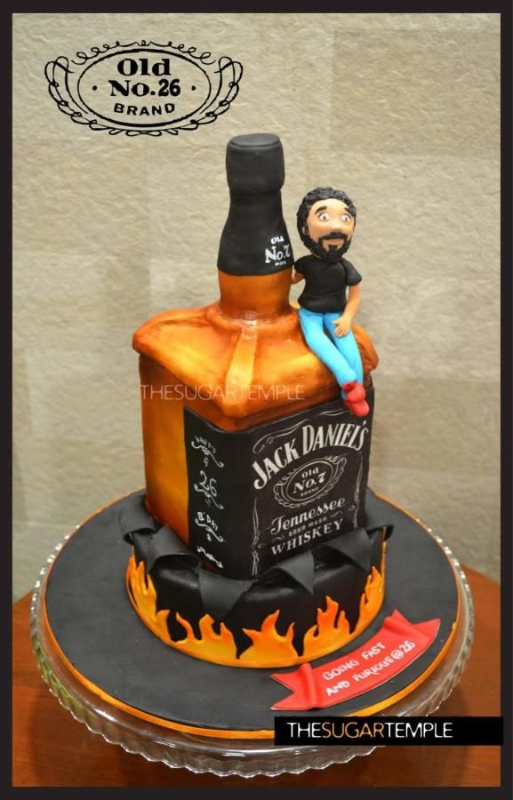 Jack Daniels Cake Cake By Thesugartemple Moms Stuff