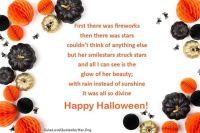 scary happy halloween poems