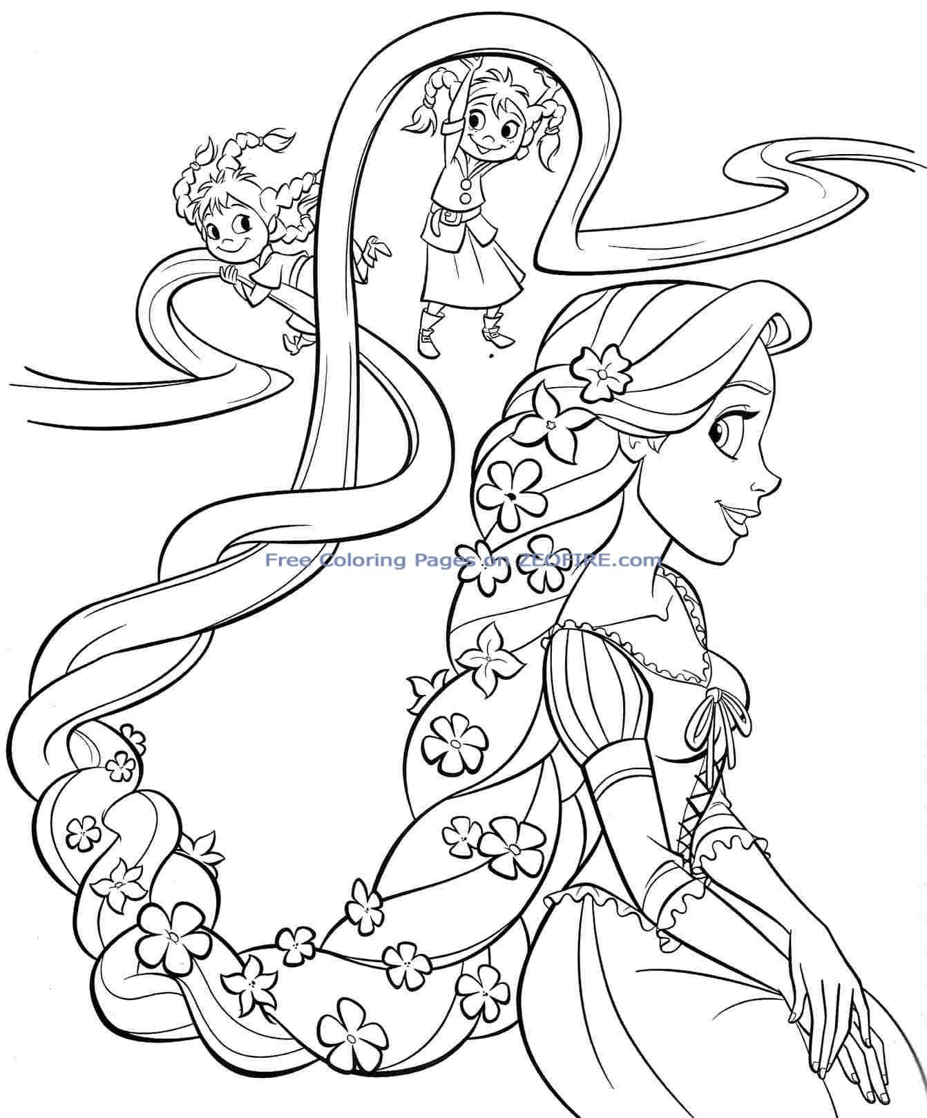 Amazing Princess Coloring Pages Printables 88
