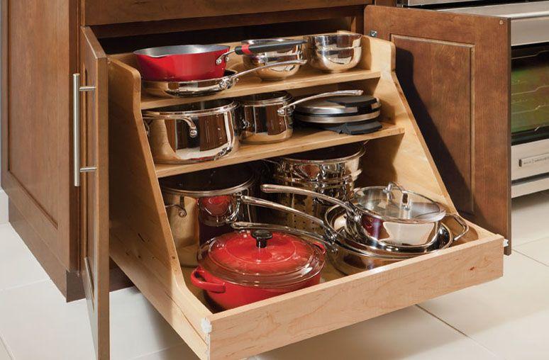 pot and pan storage options base pot and pan organizer home decor pinterest pan storage on kitchen organization pots and pans id=47284